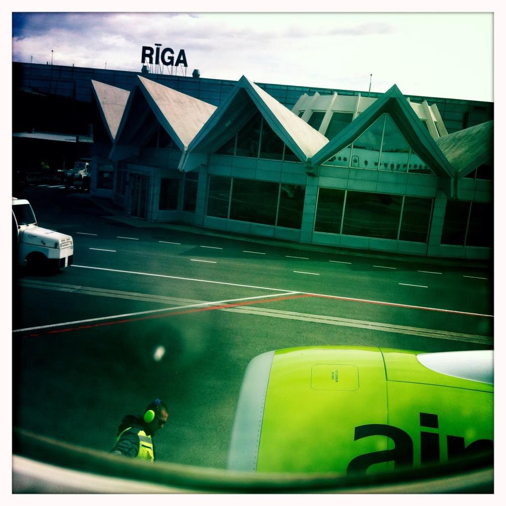 Riga Airport Foto: Christiane Kühl